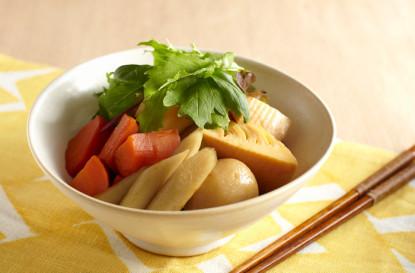 根菜の彩り煮物